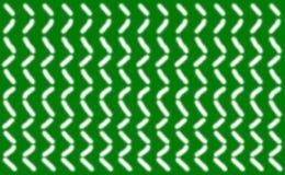 O teste padrão abstrato de linhas brancas lisas curtos arranjou simetricamente em um fundo verde, Fotografia de Stock Royalty Free