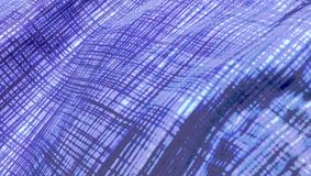 O teste padrão azul ondulado do fundo alinha o sumário Imagem de Stock