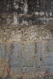 O teste padrão cinzento da textura da parede fotos de stock