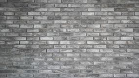 O teste padr?o da luz bonita velha - parede e textura de tijolo cinzenta imagens de stock