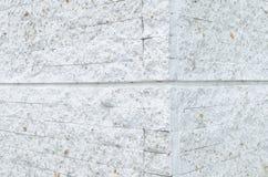 O teste padrão da parede de tijolo de pedra moderna branca surgiu Imagens de Stock