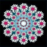 O teste padrão das flores Fotos de Stock Royalty Free