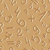 O teste padrão de dígitos Fotografia de Stock Royalty Free