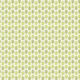 O teste padrão decorativo floral do verde da textura com folhas decorativas abstrai o fundo decorativo ilustração do vetor