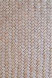 O teste padrão do bambu tailandês do estilo handcraft o fundo da textura Imagem de Stock Royalty Free