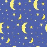 O teste padrão do céu noturno Imagem de Stock