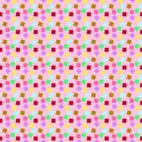 O teste padrão do partido da mil-cor Foto de Stock
