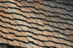 o teste padrão do telhado no exterior Imagem de Stock