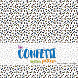 O teste padrão do vetor dos confetes Fotos de Stock Royalty Free