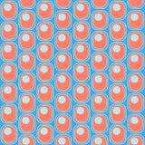 O teste padrão dos ovals e dos círculos foto de stock royalty free