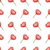 O teste padrão floral sem emenda com a flor cor-de-rosa macia pode ser usado para a impressão de matéria têxtil, anúncio, fundo,  ilustração royalty free