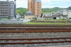 o teste padrão Railway em japão Imagens de Stock Royalty Free