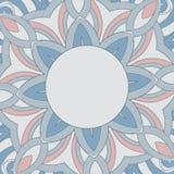 O teste padrão redondo decorativo é como a mandala Fotografia de Stock Royalty Free