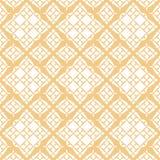 O teste padrão sem emenda de vime geométrico do vetor com grade, entrelaça, tece, engrena, rede ilustração royalty free