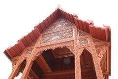 O teste padrão tailandês do templo Fotos de Stock