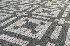 O teste padrão velho da pedra, apedreja pedras textured do fundo, as cinzentas e as mindinhos do granito Fotos de Stock Royalty Free