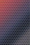O teste padr?o do cubo do hex?gono cobre a ilustra??o geom?trica, quadrada ilustração do vetor