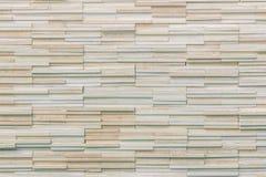 O teste padrão da parede de tijolo moderna da pedra da ardósia surgiu para o fundo Foto de Stock