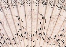 O teste padrão tecido ventila as folhas Foto de Stock Royalty Free