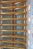 O teto da catedral de Monreale Imagens de Stock
