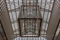 O teto da entrada de Rijksmuseum Fotografia de Stock