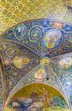 O teto latino da capela do calvário Fotos de Stock Royalty Free