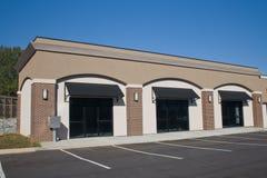 O tijolo acentua a alameda comercial Foto de Stock Royalty Free