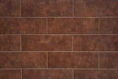 O tijolo da textura telhou paredes Fotografia de Stock