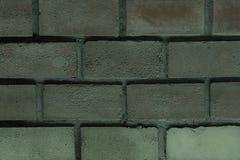 O tijolo do painel dobrou-se com borda grossa do projeto uniforme cinzento da base do tom do sepia do efeito do filtro do cimento imagens de stock royalty free