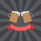 O tim-tim agride o logotipo Imagens de Stock