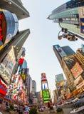 O Times Square é um símbolo de New York City Fotografia de Stock Royalty Free