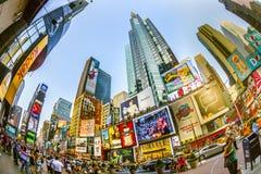 O Times Square é um símbolo de novo Fotos de Stock Royalty Free