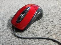 o tipo do rato ótico tem a linha imagens de stock