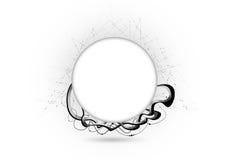 O titã circunda o espaço ilustração do vetor