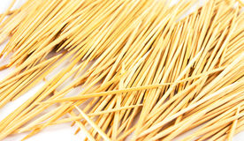 O Toothpick isolou-se fotos de stock