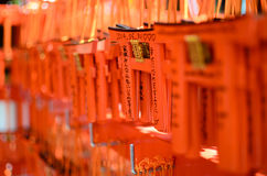 O torii vermelho ema foto de stock royalty free