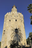 Torre del Oro (torre), Sevilha do ouro, Spain Imagens de Stock Royalty Free