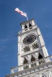 O Torre Reloj (torre de pulso de disparo) em Iquique, o Chile Fotos de Stock