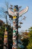 O totem é a herança cultural de primeiros povos da nação Imagem de Stock Royalty Free