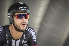 102o Tour de France - ensayo del tiempo - primera fase Fotos de archivo libres de regalías