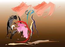 O toureiro espanhol Imagem de Stock Royalty Free