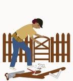 O trabalhador manual Imagens de Stock
