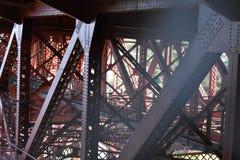 O trabalho da estrutura, underworking de golden gate bridge, 2 imagem de stock royalty free