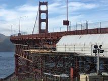 O trabalho da estrutura, underworking de golden gate bridge, 4 foto de stock royalty free