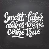 O trabalho de Smart faz desejos vir verdadeiro Imagem de Stock Royalty Free