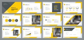 O trabalho e o projeto de executivos analisam o projeto da apresentação do processtemplate da pesquisa e o projeto da disposição  ilustração stock