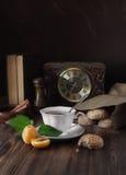 O& tradicional x27 do inglês 5; chá do pulso de disparo Imagens de Stock