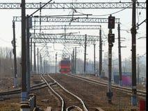 O trajeto da estrada de ferro Imagem de Stock Royalty Free
