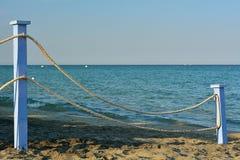 O trajeto na praia Imagem de Stock