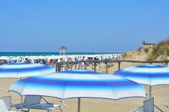 O trajeto na praia Fotografia de Stock Royalty Free
